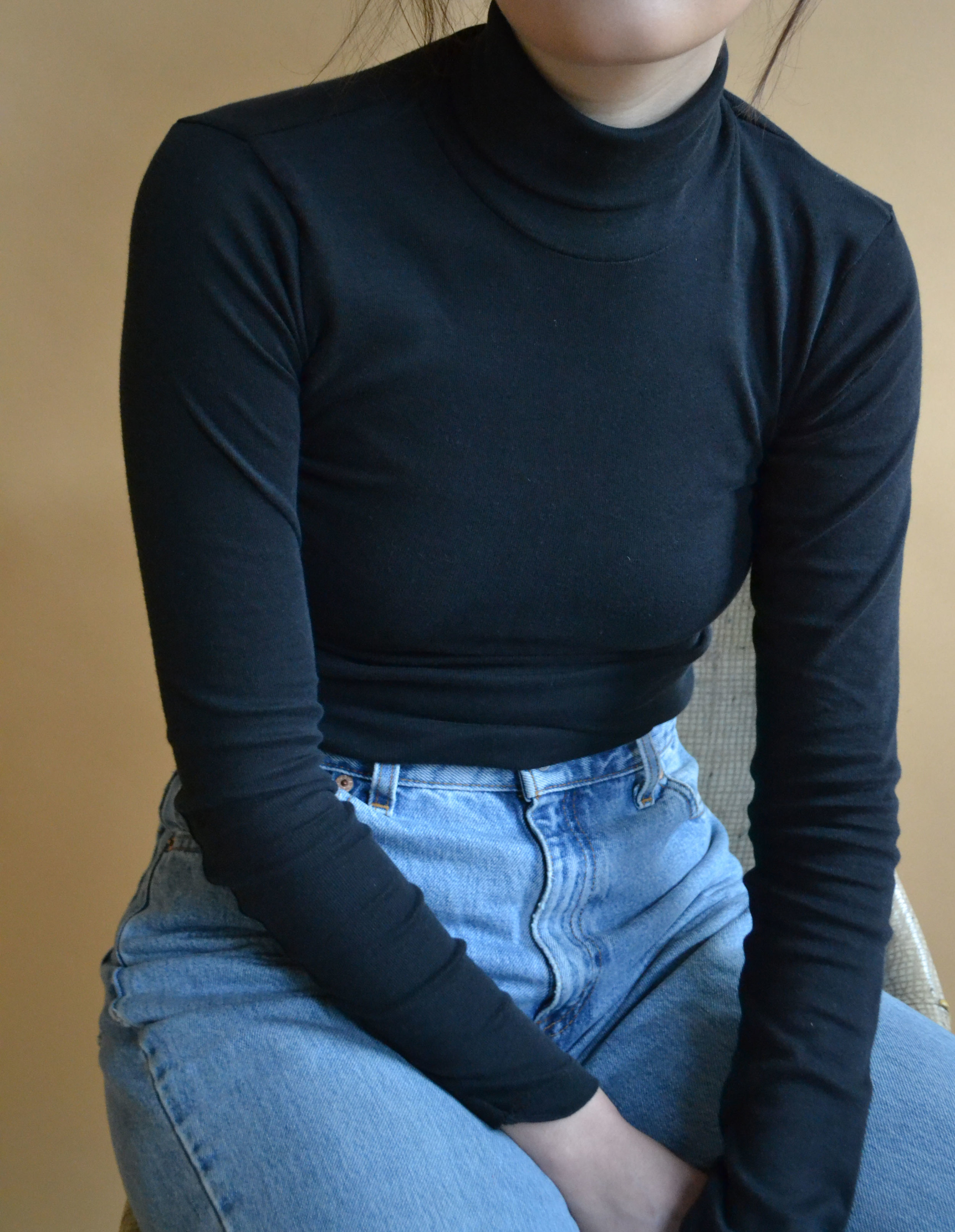 The Fitted Turtleneck | $45