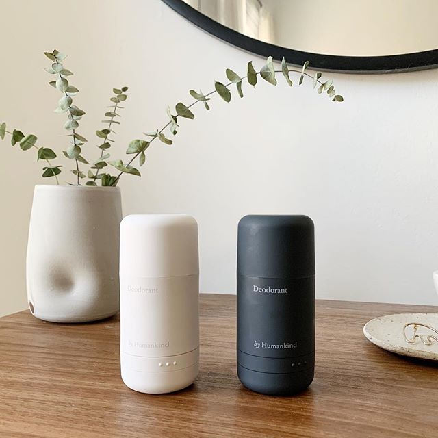 "My husband and I are doing the ""clean switch"" with all our personal care products. We decided to try out @byhumankind's deodorant and are so happy with it! 💫  @byhumankind is committed to reducing single-use plastic waste ♻️ and a refill program customized to your needs.  Their container ($14.95) is guaranteed for life 👵🏻 and their formula is 100% natural-GMO-free. Aluminum-free, Paraben-free, Phthalate-free, Gluten-free, and ethically-made ✨"
