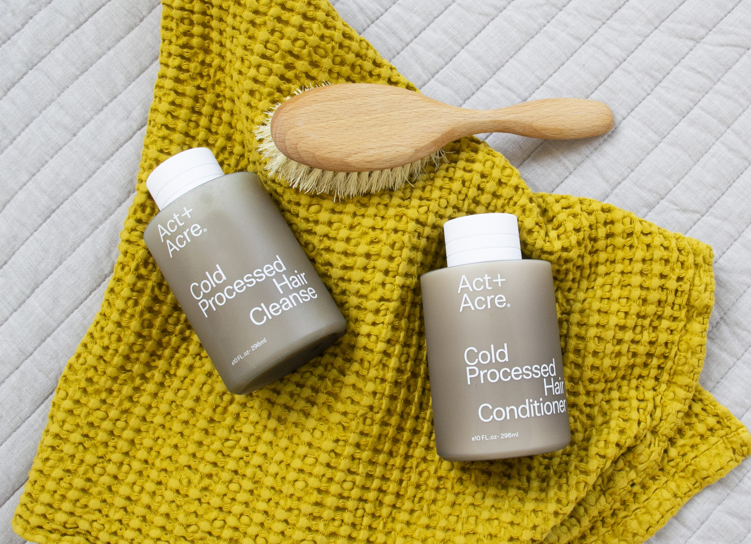 Act + Acre Hair  Cleanse | $28 ,  Hair Conditioner $28