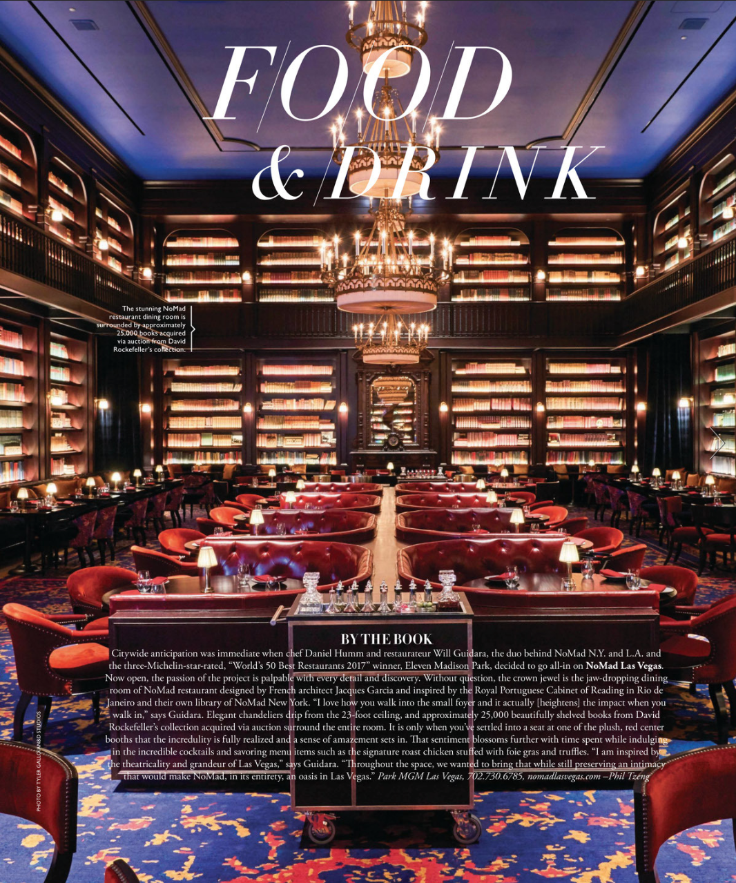 VEGAS MAGAZINE | THE NOMAD | JANUARY 2019