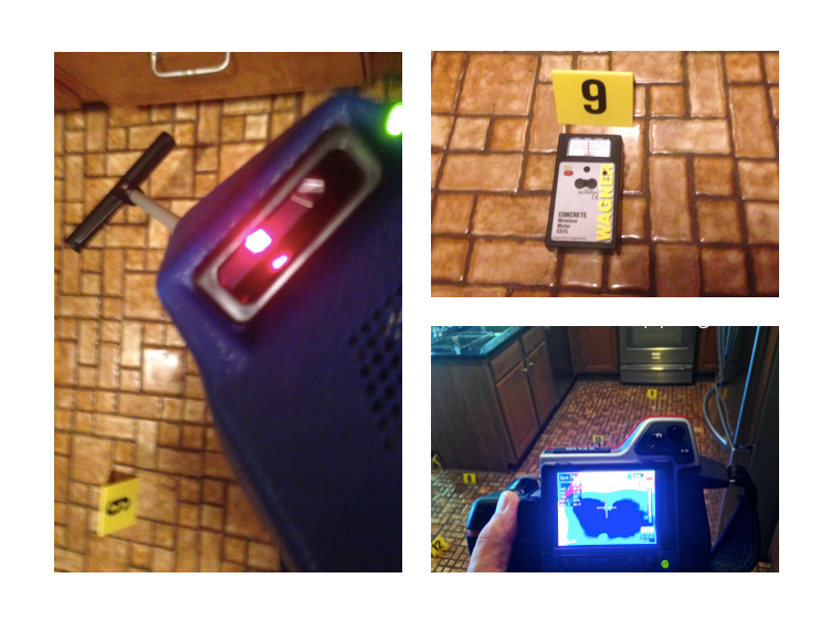 Using the best of (3) divergent technologies: Ultrasonic, Infrared, and Qualitative Moisture Reading