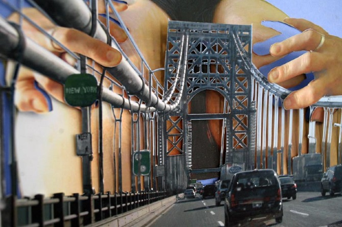 George Washington Bridge (Rainbow Highway DETAIL)