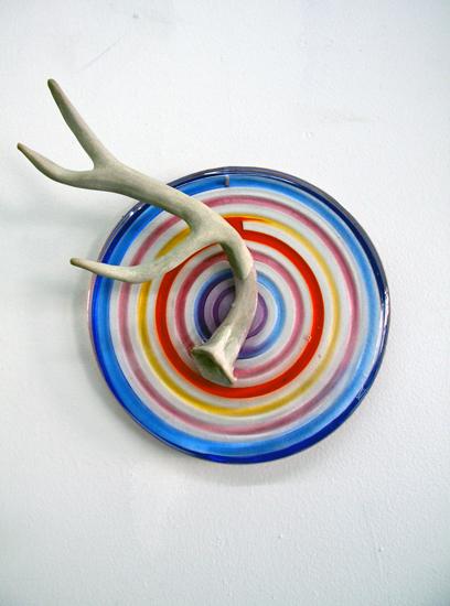 Mandala series (Ceramic deer antler)