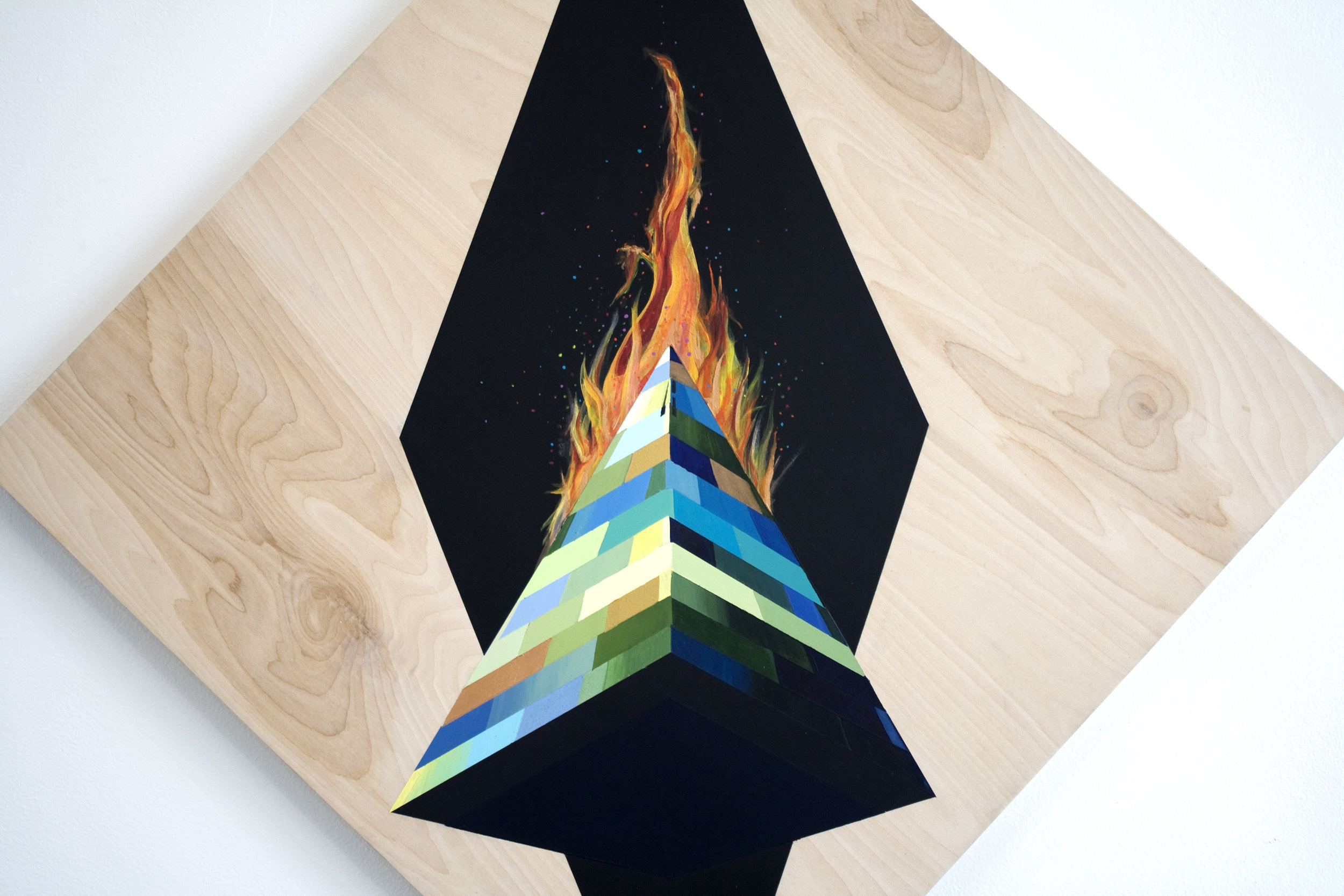 Obelisk on Fire (DETAIL)