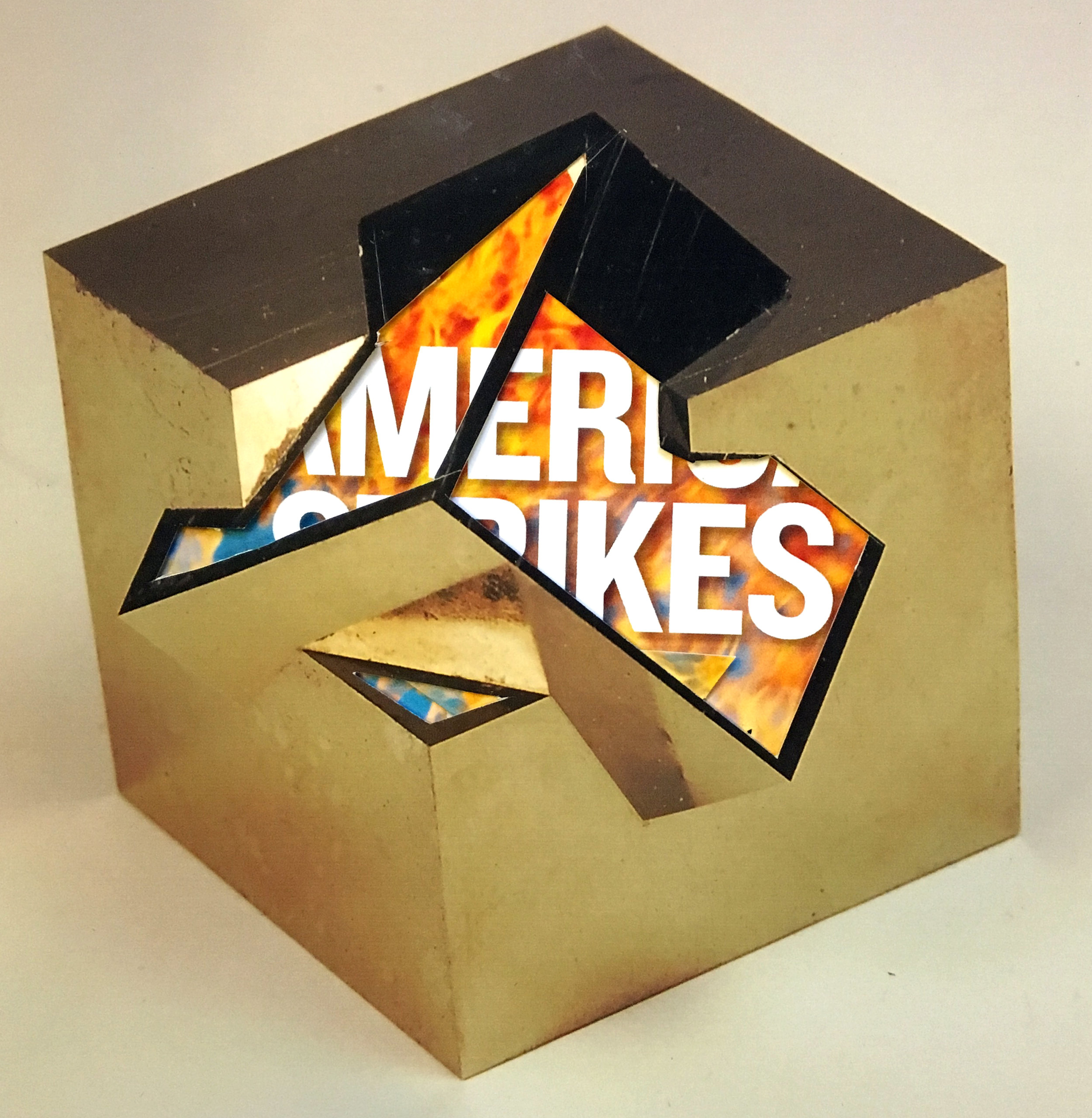 America Strikes - Pyrite Inner Fire Series