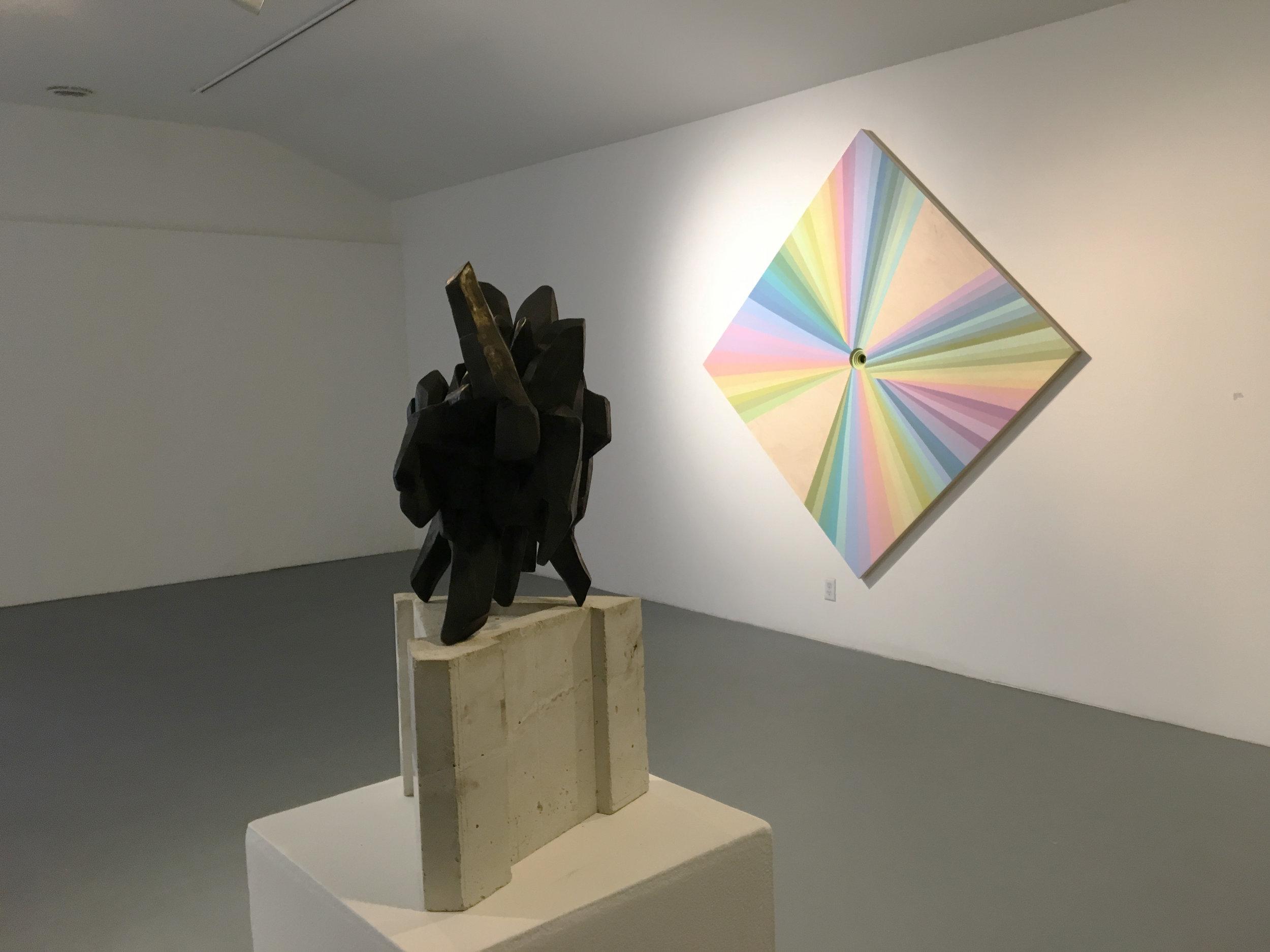 The Black Crystal & The Rainbow Warrior Painting
