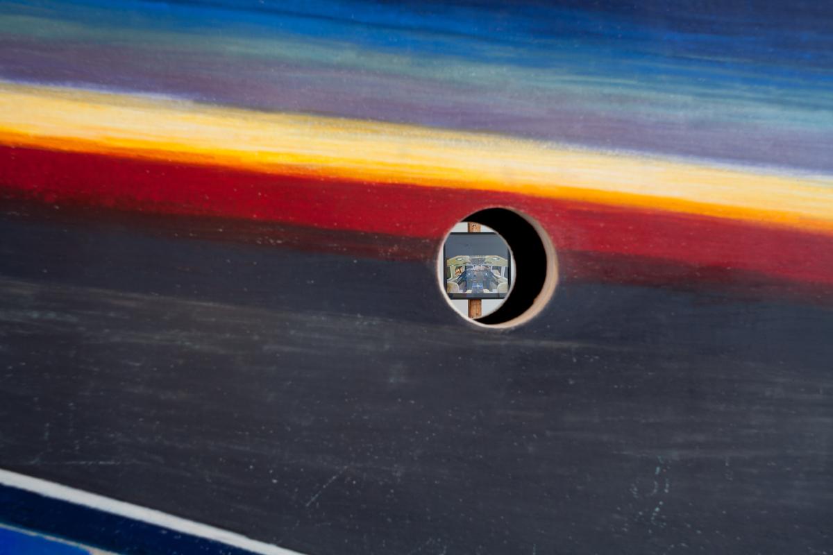 Disco Cockpit (DETAIL of HOLE)