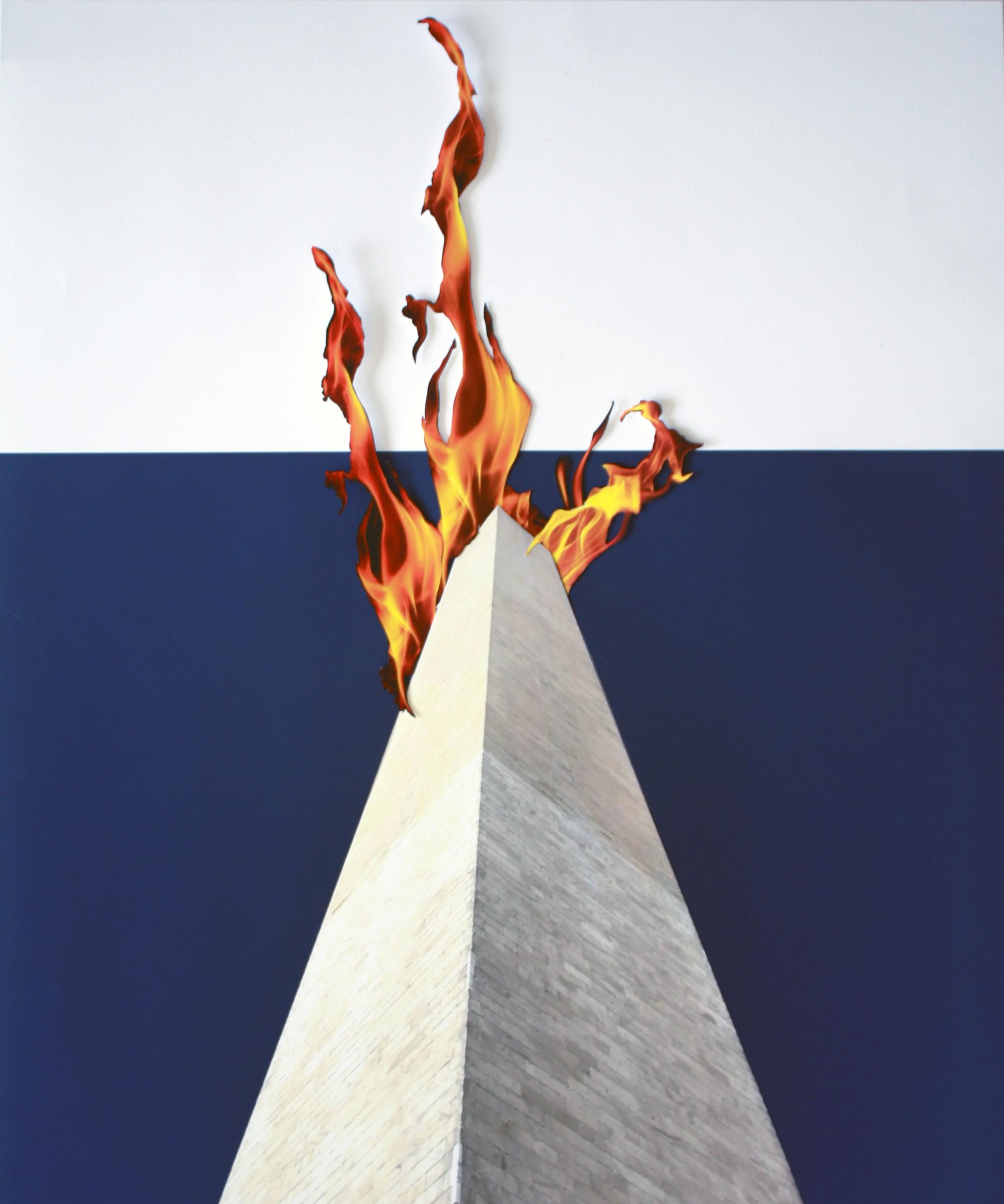 Monument on Fire (Washington)