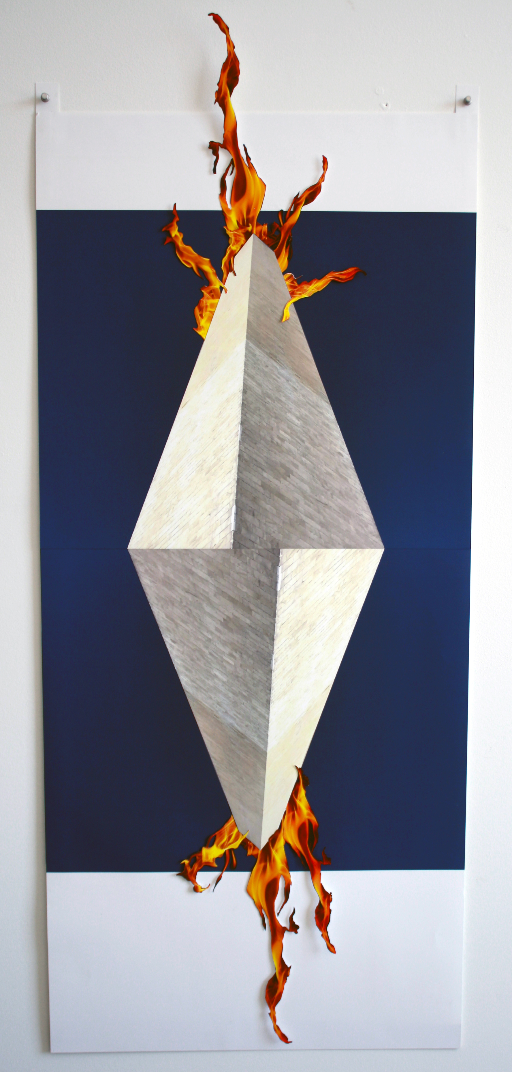 Monument on Fire (Double Diamond)