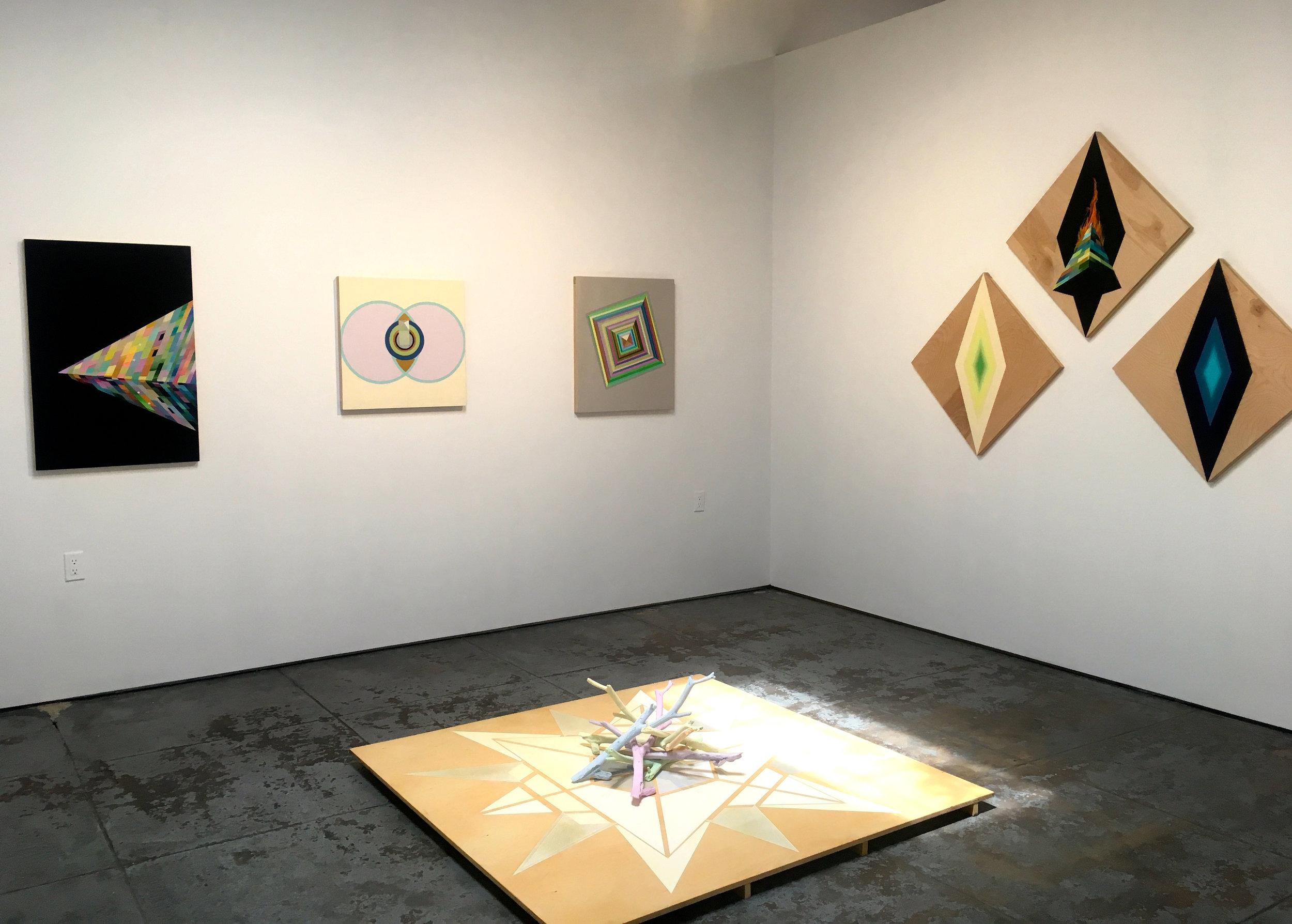 """Feminist Alchemy"" (East corner installation)"