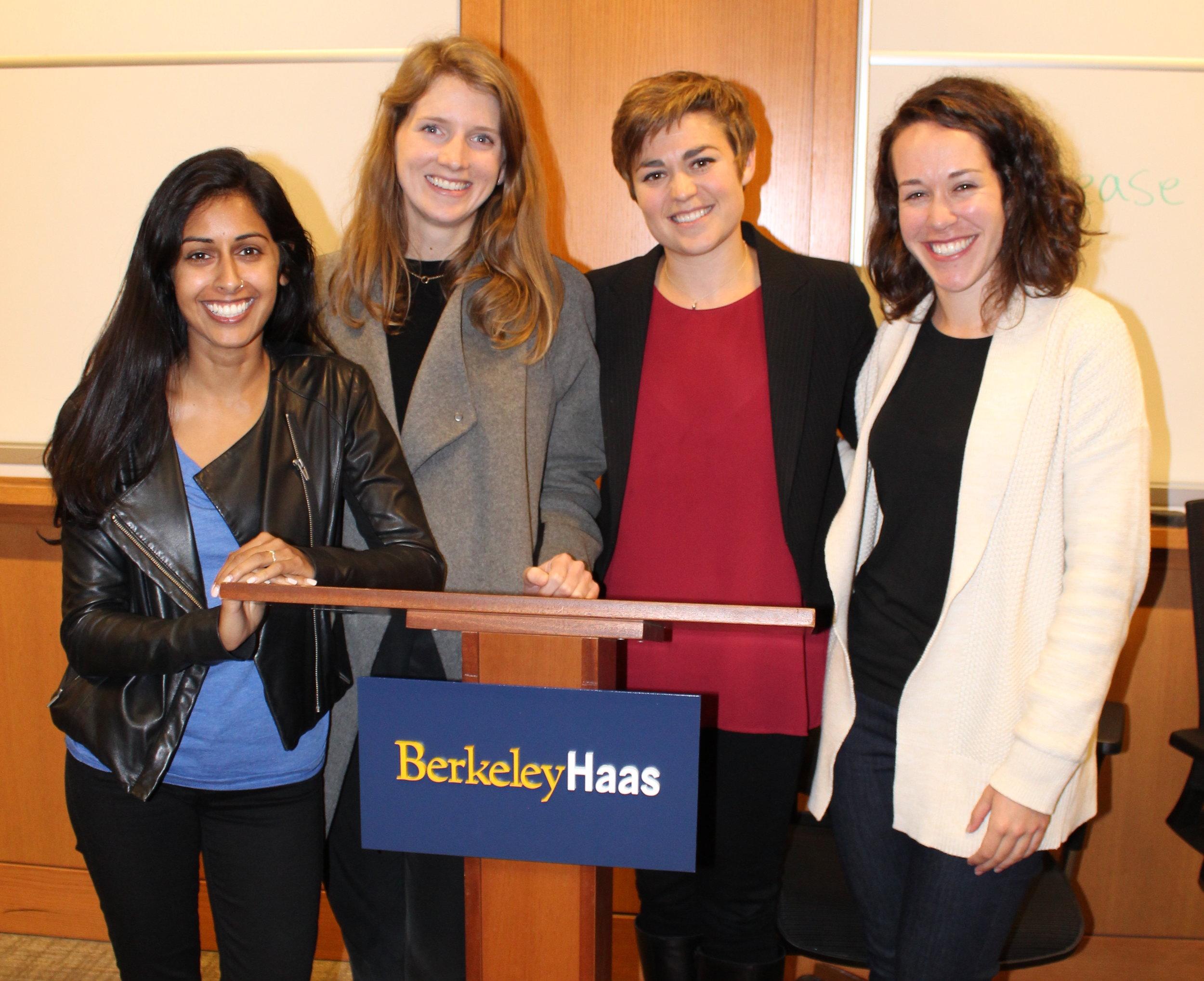 Haas MBA Women Panel