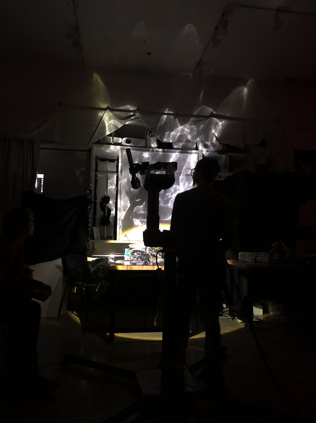 Experiments in projection shadow pieces