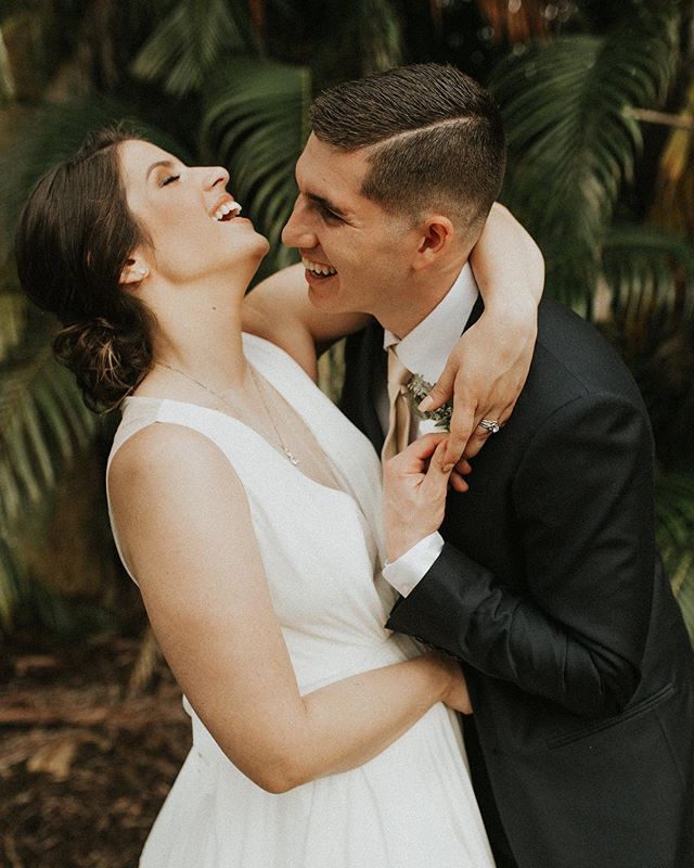 I have had the honor of watching the love shared between these two grow over the years, and on their wedding day under the Florida palms, their love was pure bliss. ✨🌴
