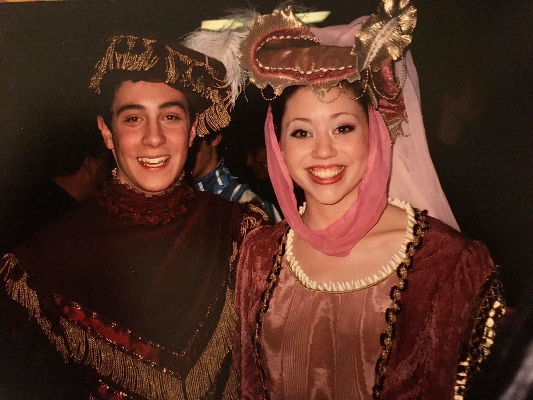 Colin & Nicole in  Once Upon A Mattress , 2003