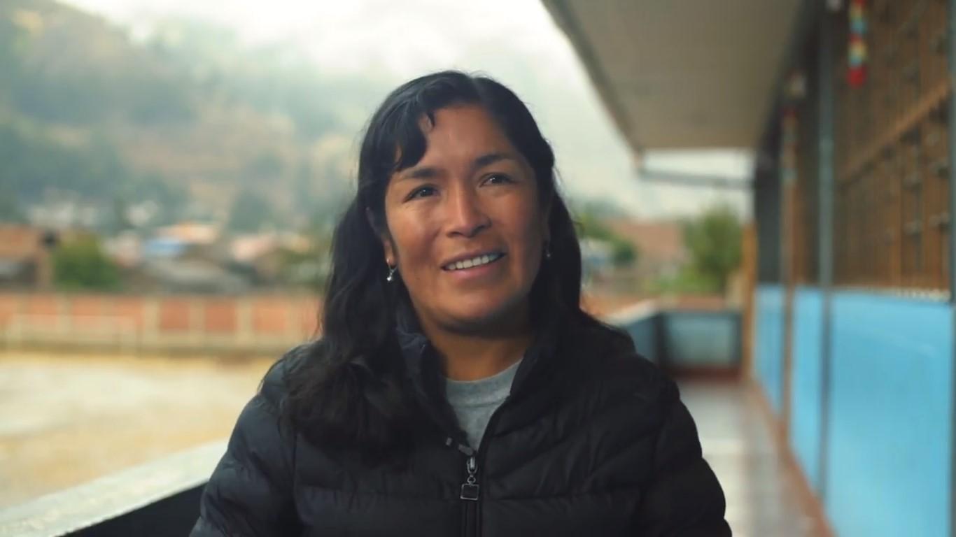 """Tadea Toledo - """"Las tres cosas que me llevo son: trabajar el aspecto socioemocional, aprendizaje basado en proyectos y el trabajo en equipo para lograr las metas""""."""