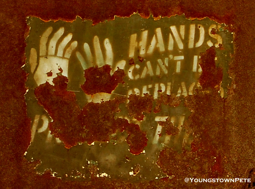 "McDonald, O.  ""Hands Can't Be Replaced"""