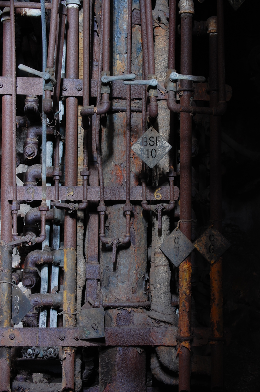 Detail: Blast furnace controls, Bethlehem Steel, Bethlehem PA