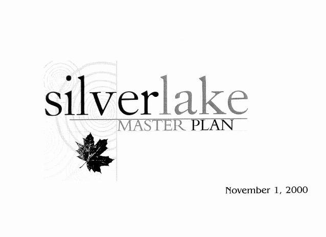 Silver Lake Master Plan