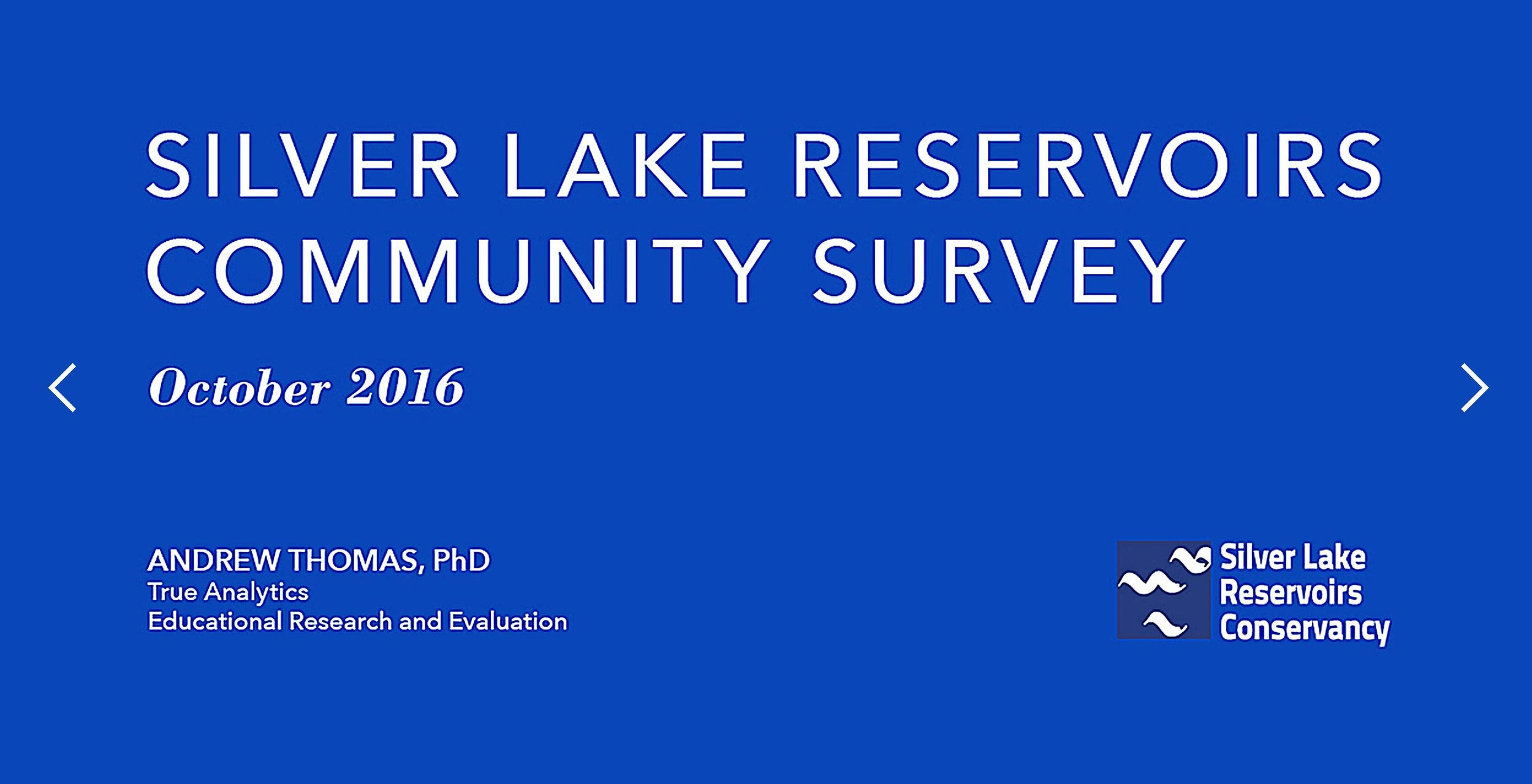 Silver Lake Reservoirs Conservancy