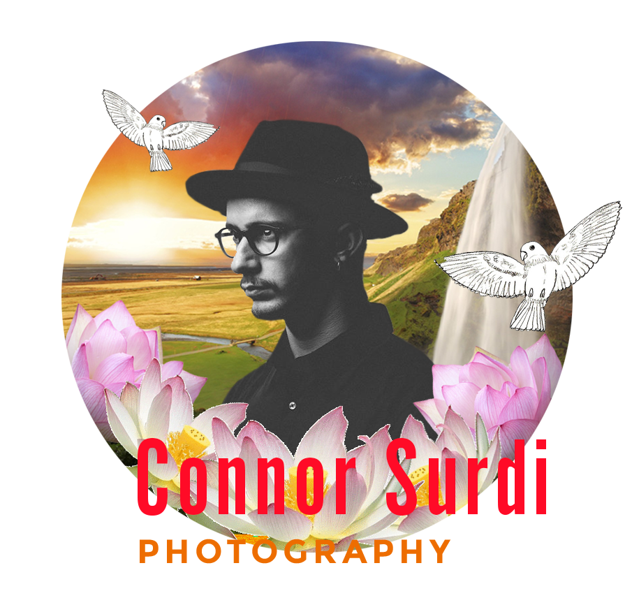 CONNOR SURDI   Connor Surdi is a 25 year old photographer hailing from Seattle, WA. While he specializes in commercial photography, he also professionally shoots automative, portraiture, weddings and basically anything else that catches his eye. In 2016, he was blessed with the opportunity to join the Sony Alpha Collective. When he's not shooting photos or writing about himself in the 3rd person, Connor works on his '68 VW Bug, hikes in the PNW, and binge eats Oreo thins. Plus, this boy can really walk and talk, so that's what he'll be doing - a photowalk.   www.connorsurdi.com