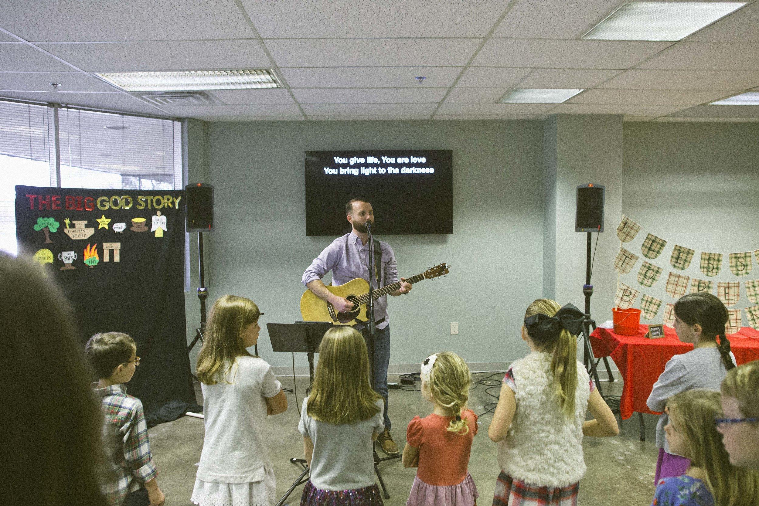 Kids Ministry Worship
