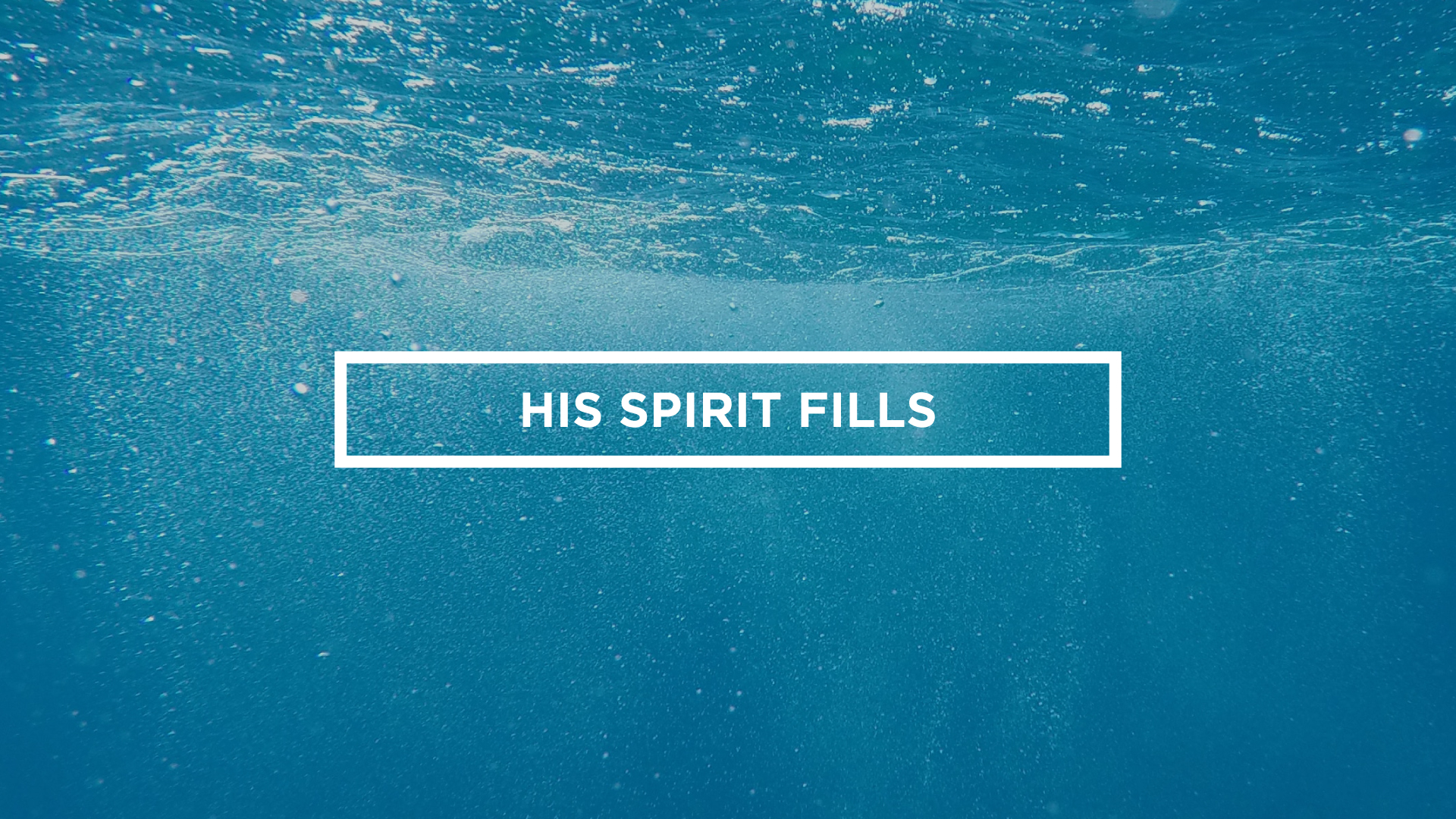 3. His Spirit Fills - The disciples of Jesus were called to live a Spirit-Filled life- including all that that means for their relationship with God, their personal character and the way in which they ministered. As disciples we want to pursue this life in the Holy Spirit.