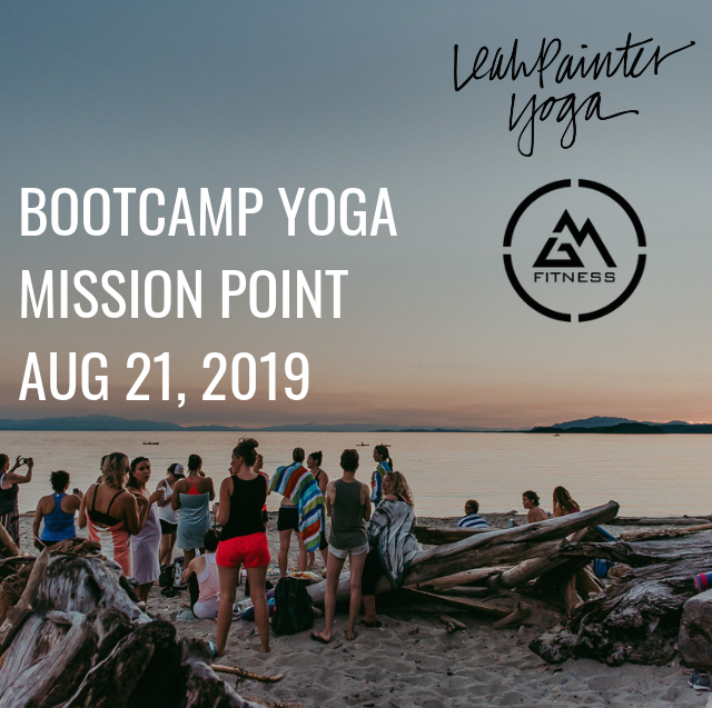 Mission Point - 4595 Sunshine Coast Hwy, Sechelt, BCAugust 21, 20197:30 pm$20BYOB and swimwear!Bring a yoga mat and a water bottle.Sign up here!orSign up for all 6 events and save $20!