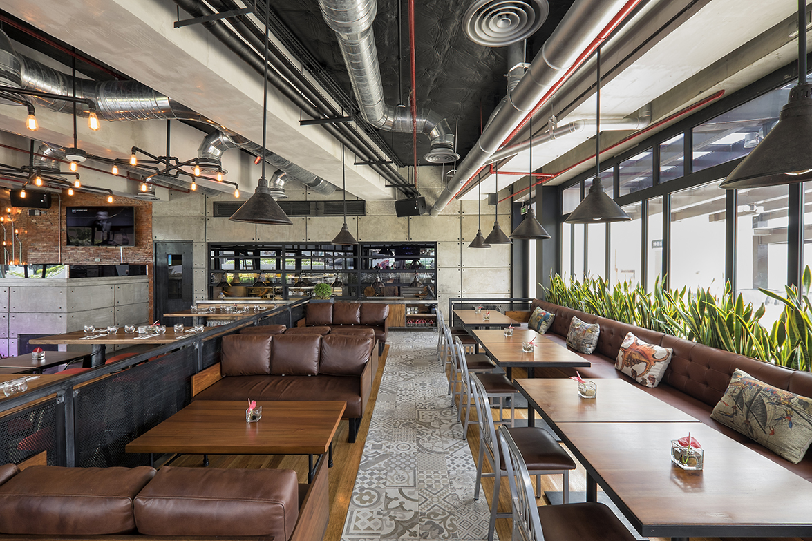 Indoor Dining at The Social