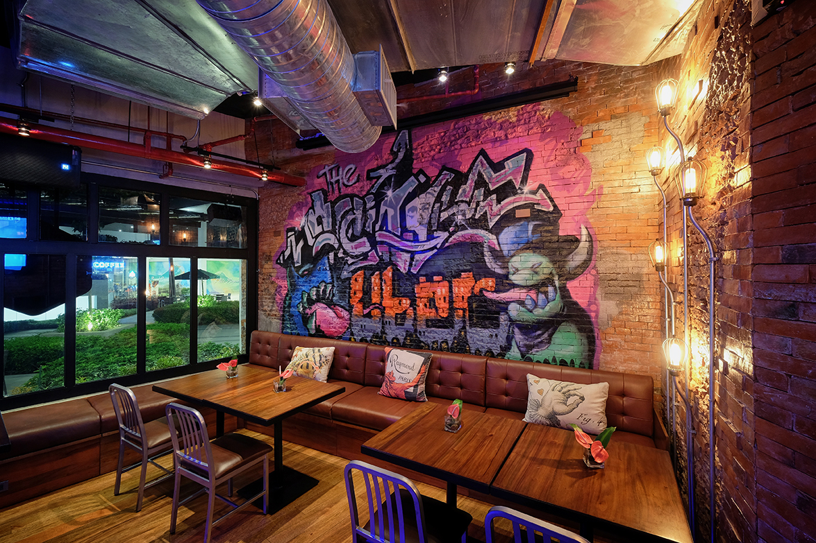 Graffiti Art at The Social