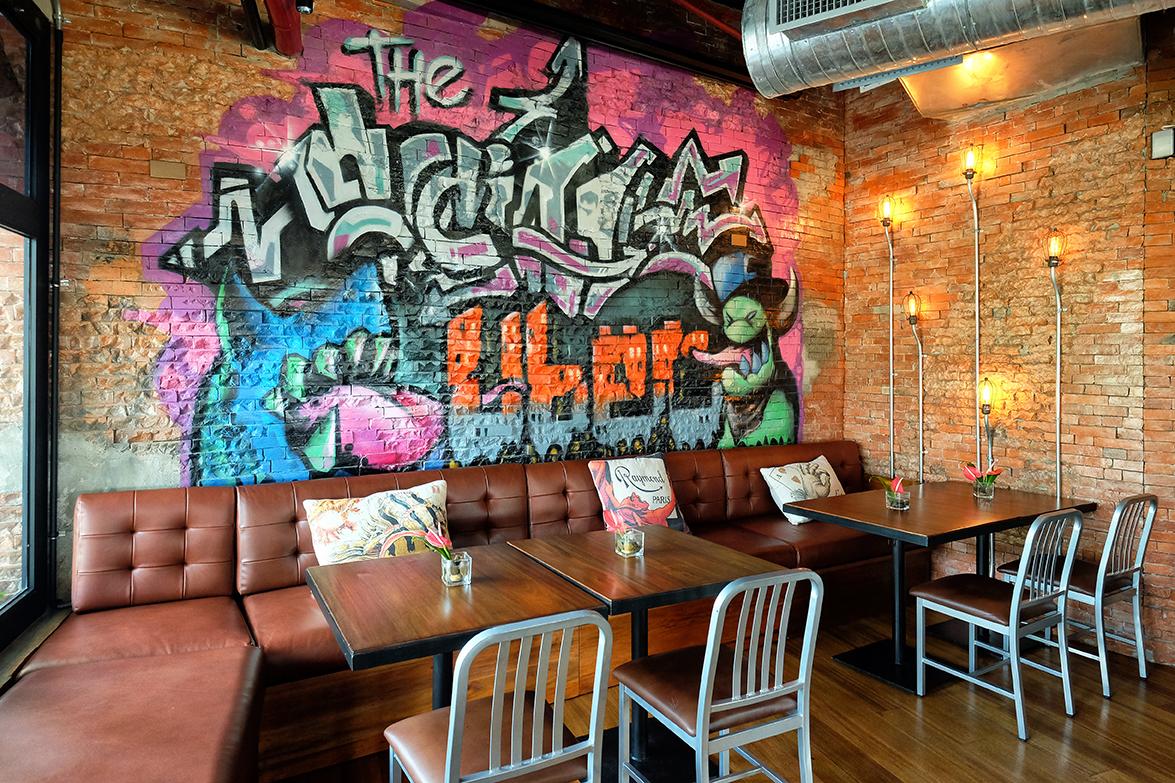 Graffiti Art at The Social, Ayala