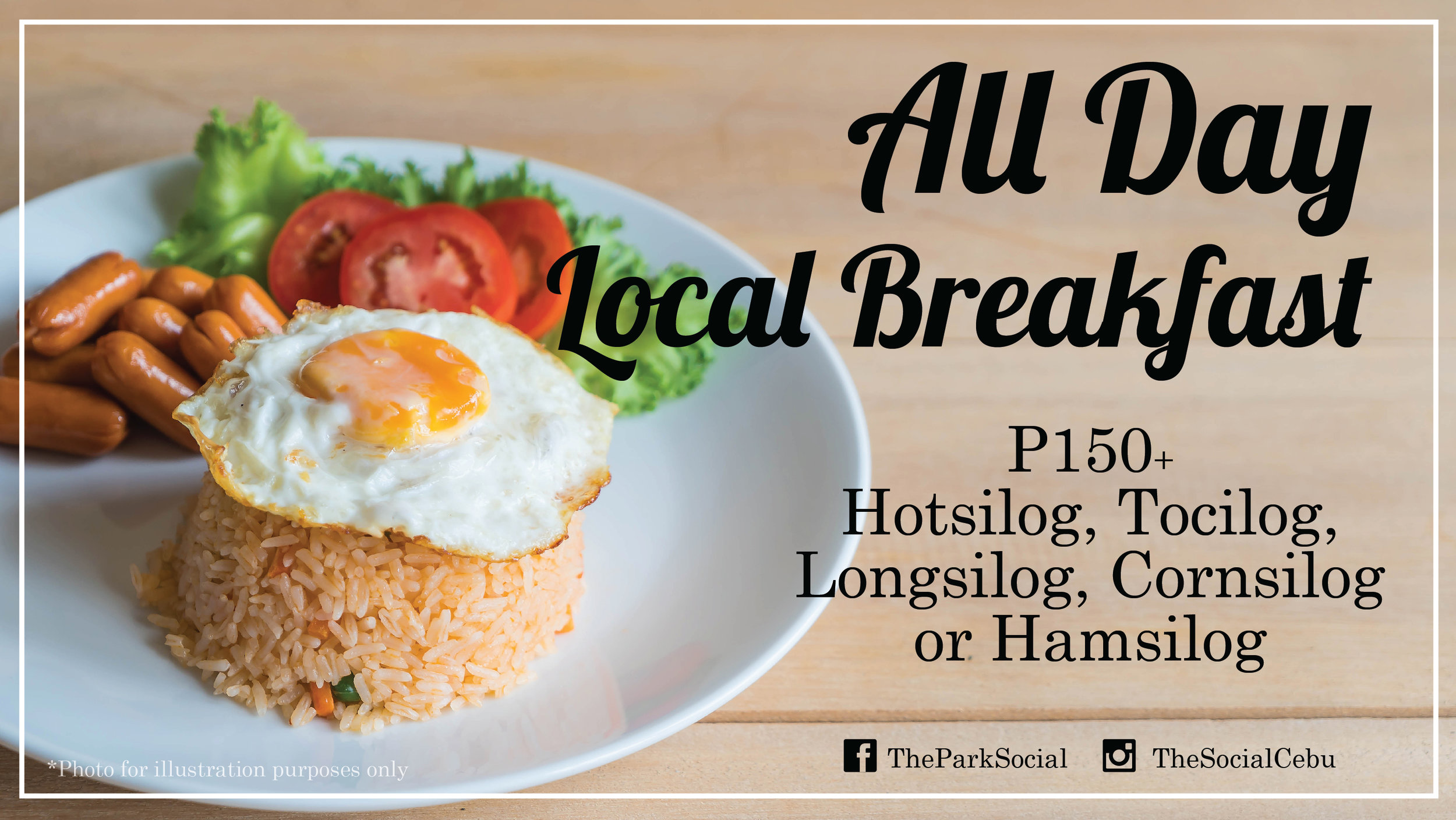 All Day Local Breakfast