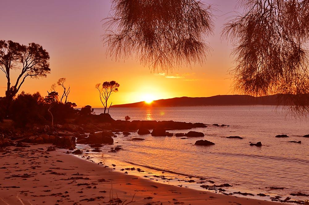 Tasmanian sunrise - Port Sorell