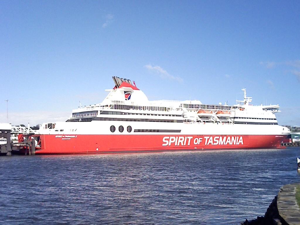 Spirit of Tasmania Devonport Tasmania