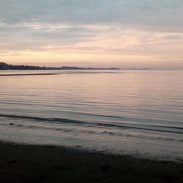 Our beach @ dusk