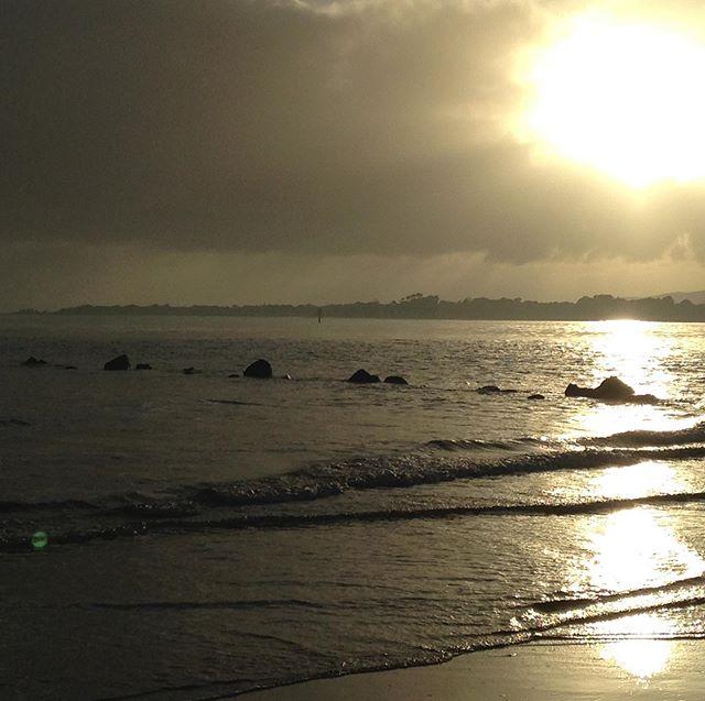 Winter sunrise Port Sorell beach