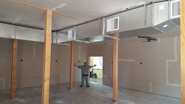 I'd say the expansion is going good! Installed our new veg room ac and getting the drywall done now that the walls are sealed. #i502 #driftboatcannabis #expansion #buildingup #ac #10ton #sealedgrow #de #420 #pnw #spokanestoners #cannabiscommunity #thc #topshelf #gains #expanding #marijuana #weed #recreationalweed #legalweed #highlife #highsociety #seattlestoners #spokanegrown #oprahsbookclub #oprahsfavoritethings  Warning: product has intoxicating effects and may be habit forming. Marijuana can impair concentration, coordination, and judgement. Do not operate a vehicle or machinery under the influence of this drug. There may be health risks associated with consumption of this product. For use only by adults twenty one and older. Keep out of reach of children.