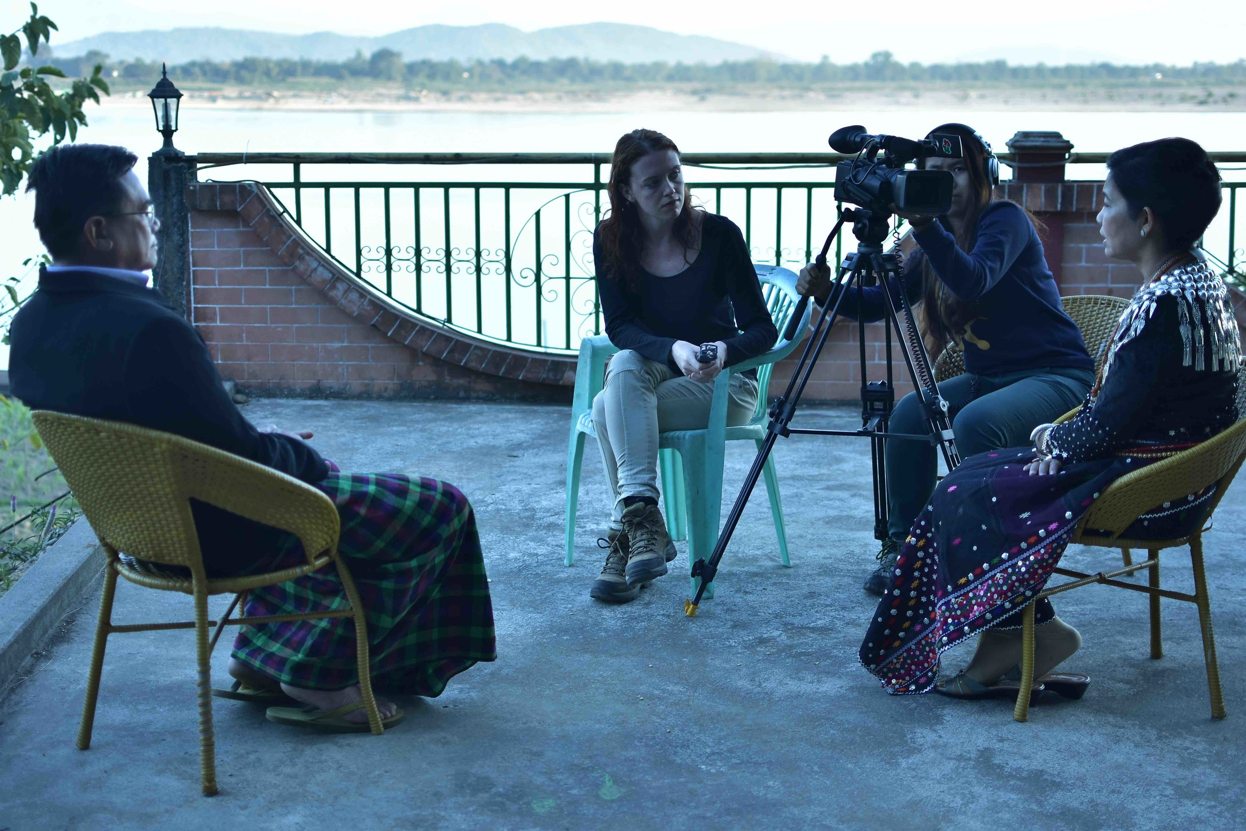 Interviewing Parliamentarian Ja Hkawn Maran.jpg