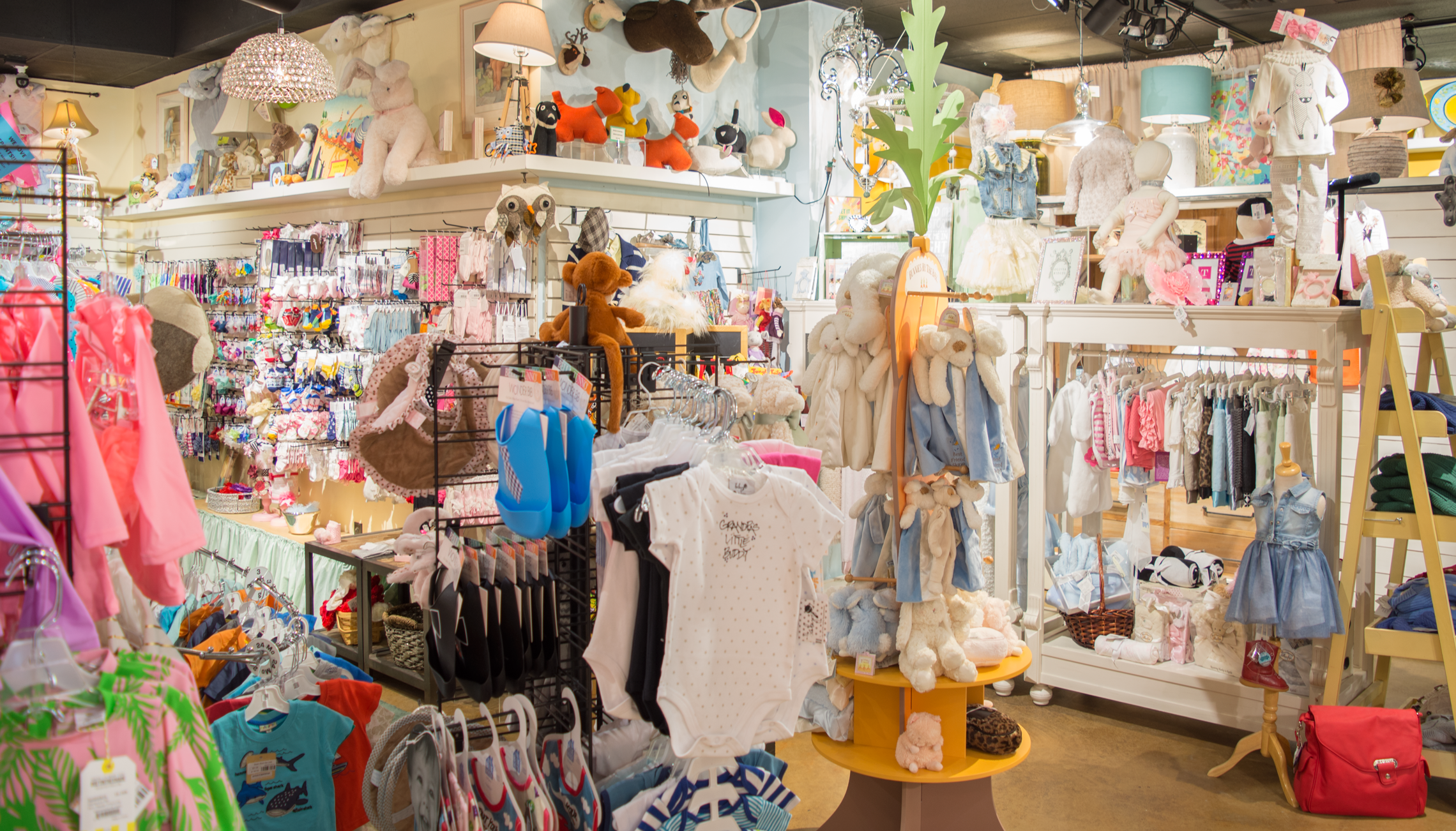 Recently Expanded - More space for more adorable clothing and accessories.