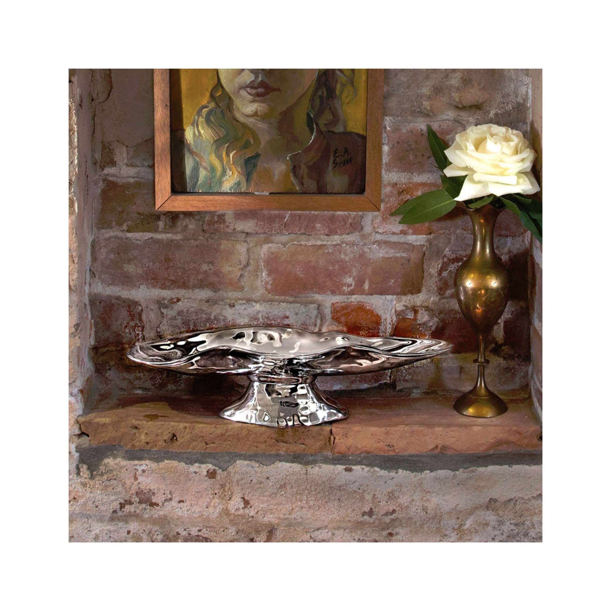 Beatriz Ball Collection Soho Pedestal Tray $89.95   Wants 1 Has 1 Needs 0