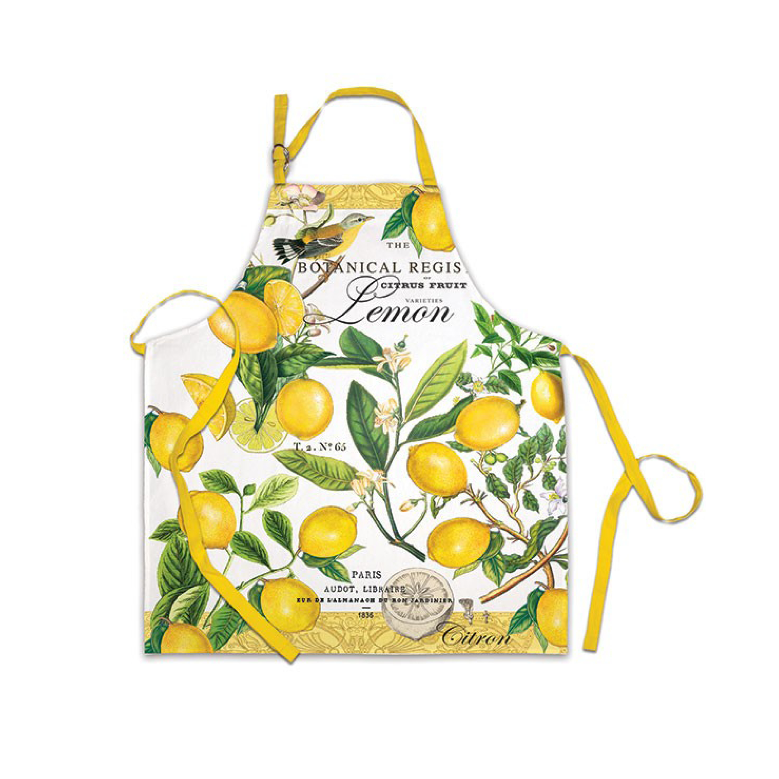 Michel Design Works Lemon Basil Apron $20.95   Wants 1 Has 1 Needs 0