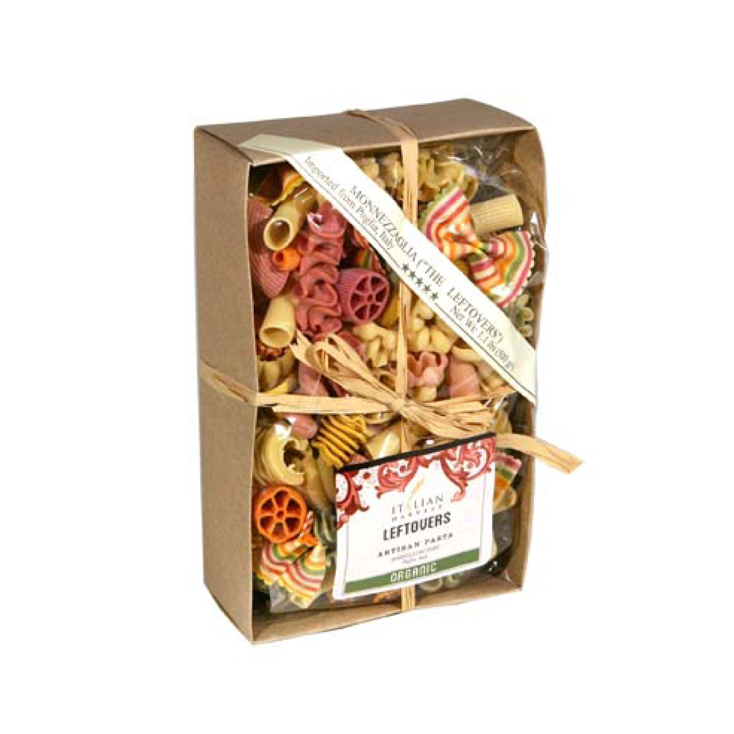 Italian Harvest Multicolor Leftovers Pasta $12.50   Wants 2 Has 1 Needs 1