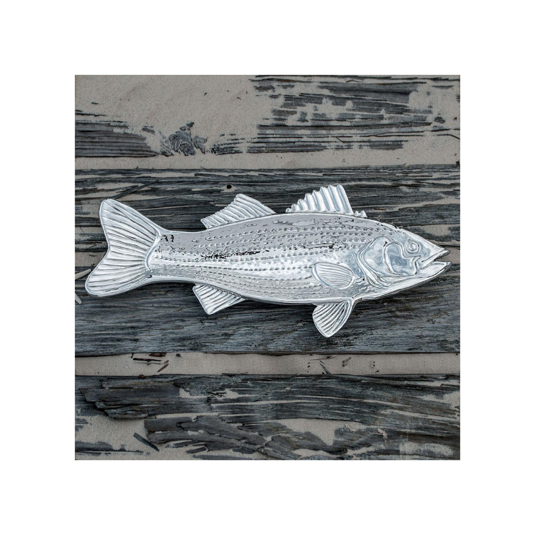Beatriz Ball Ocean Striped Bass Platter $100.95   Wants 1 Has 0 Needs 1