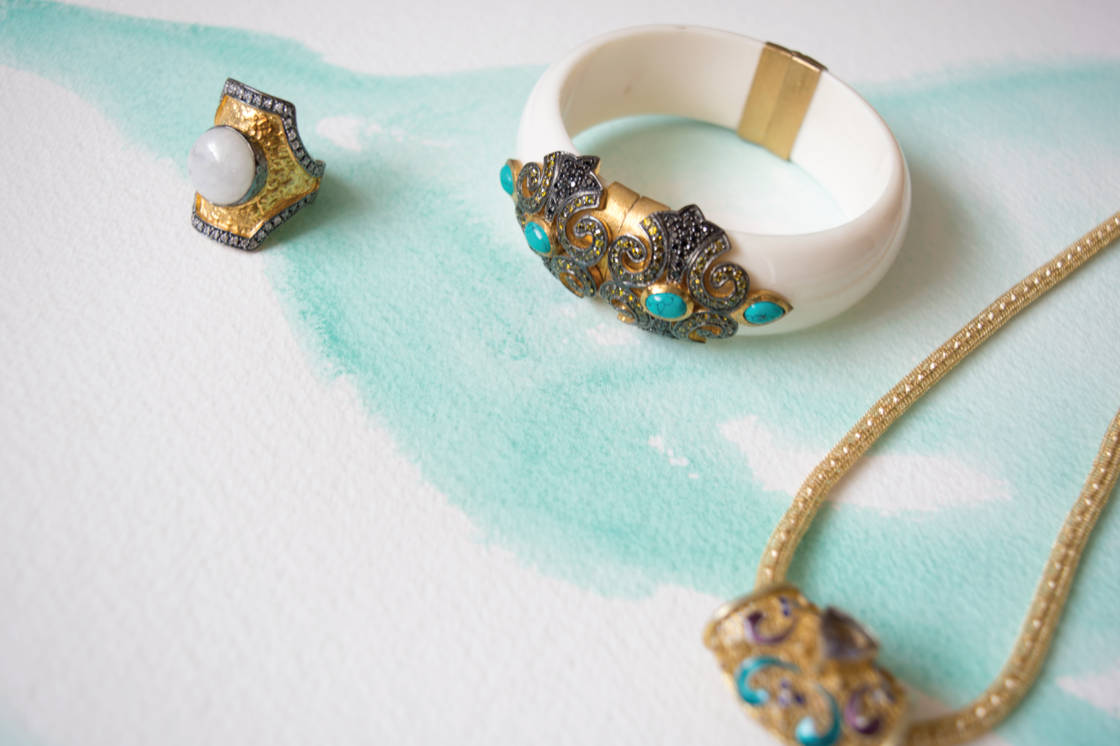 Wearable art from Jewels of Jaipur.