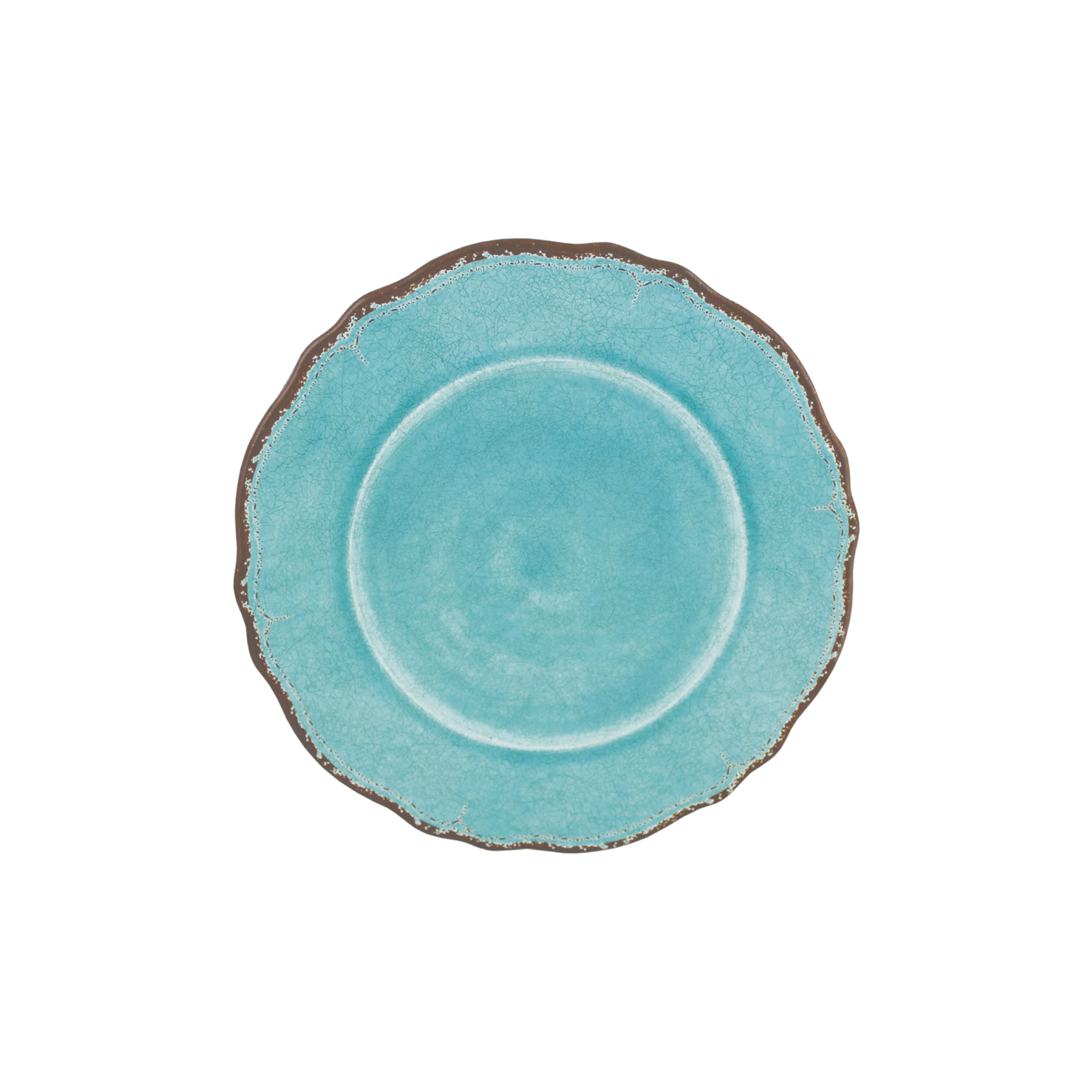 Antiqua Turquoise Dinner Plate $17.95   Wants 8 Has 8 Needs 0