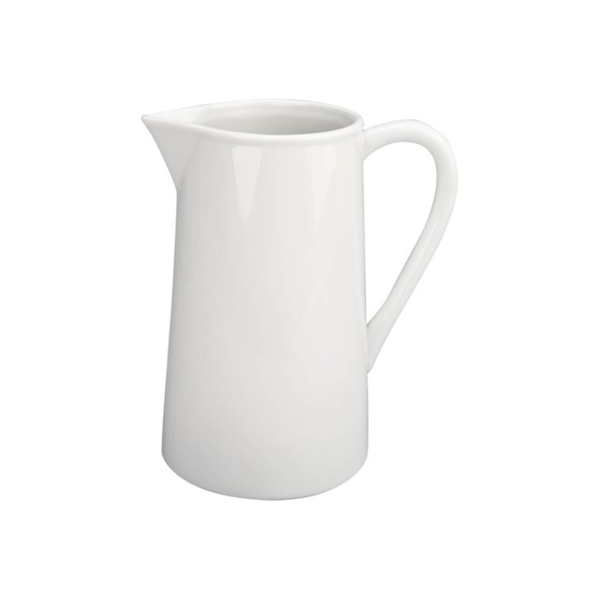 Straight Pitcher, White $21.95   Wants 1 Has 1 Needs 0