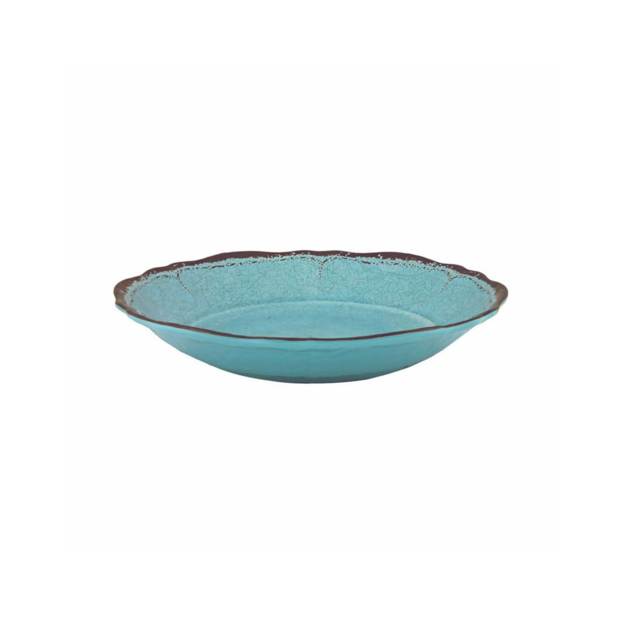 Antiqua Turquoise Pasta Bowl (small) $21.95   Wants 8 Has 8 Needs 0