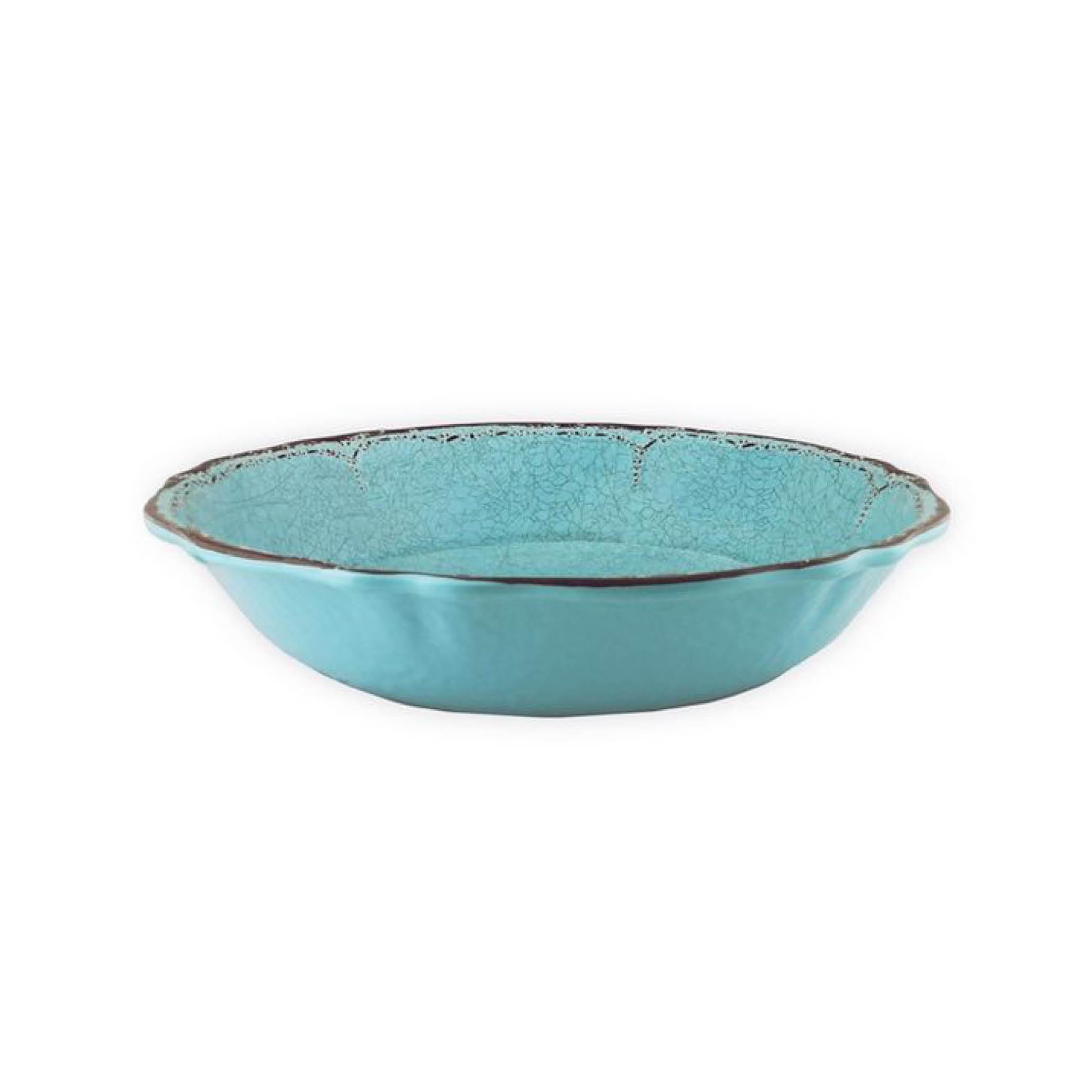 Antiqua Turquoise Pasta Bowl (large) $37.95   Wants 1 Has 1 Needs 0