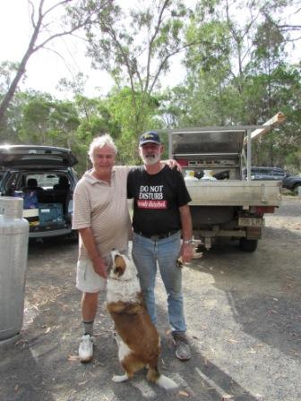 Roger, Joe & Gaby the dog.JPG