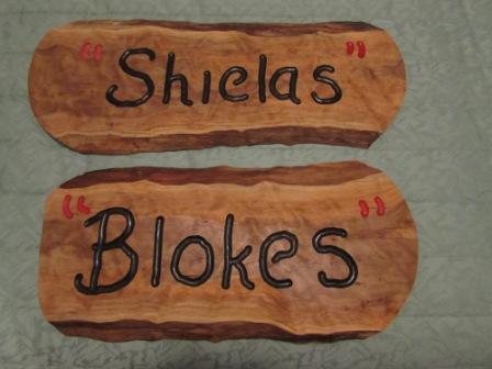 Signs donated by Joe N Karen May.JPG