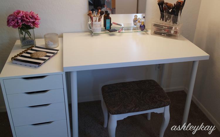 Diy Ikea Vanity Under 50 Ashleykayy